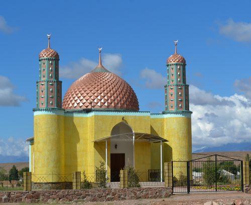 mosque kyrgyzstan dome