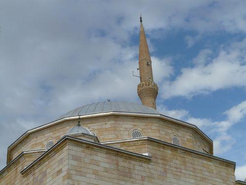 mosque minaret dome