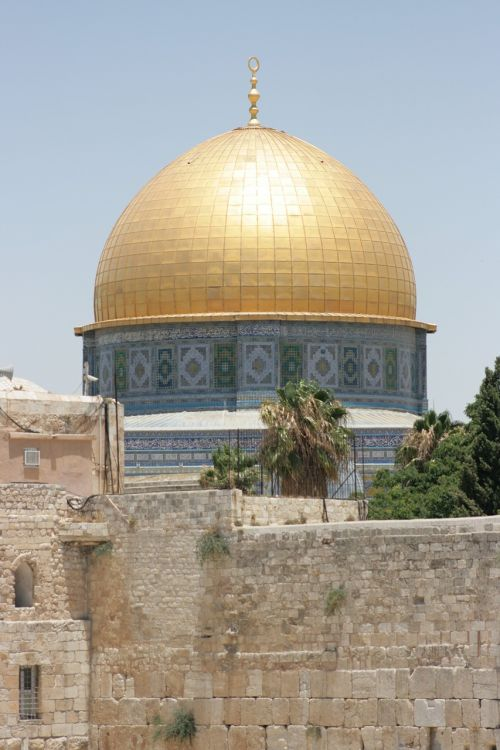 mosque dome of the rock jerusalem