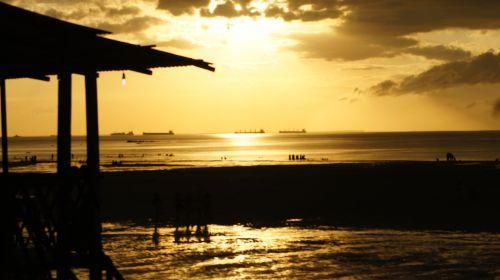 mosqueiro the beach of san francisco pará
