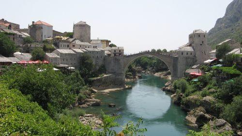 stari most bridge old town