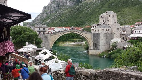 mostar bosnia bridge