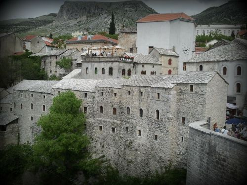 mostar old town historic