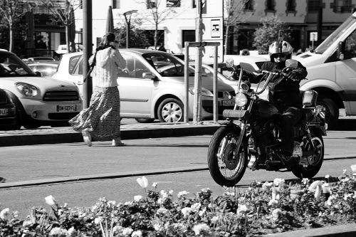 Biker In Town