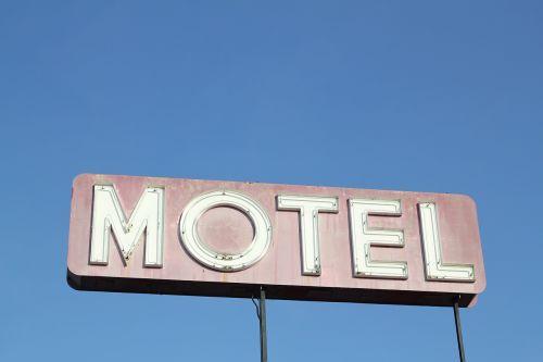 motel sign vintage