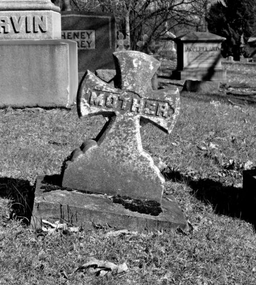 mother headstone graveyard