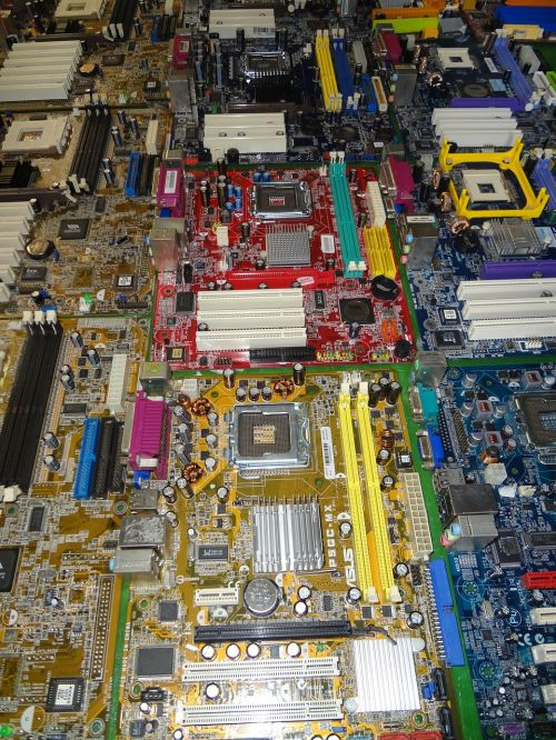 motherboard computers technology