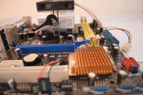 motherboard computer cpu