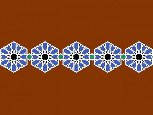 islam motif geometric