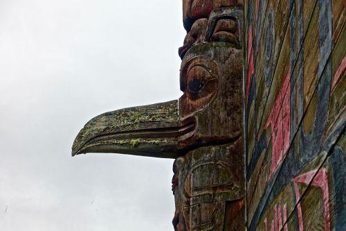 motif bird wooden
