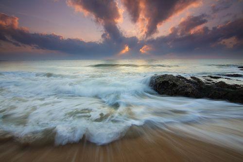 motion cloud sunrise