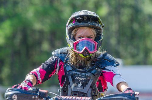 moto motocross woman