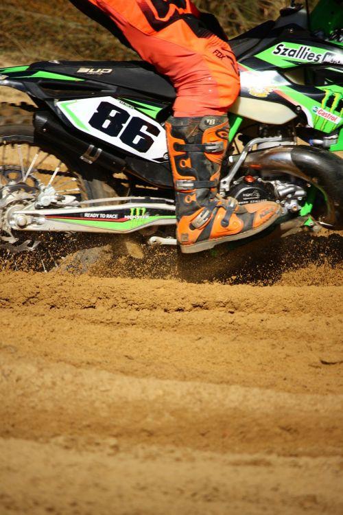 motocross enduro motorcycle