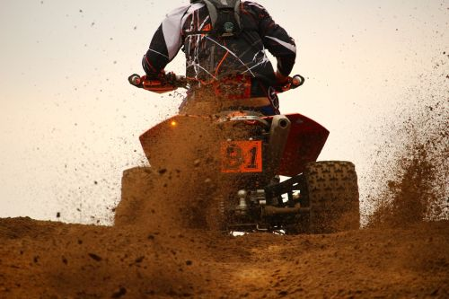 motocross cross quad