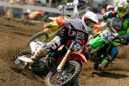 motocross dirt bike racing