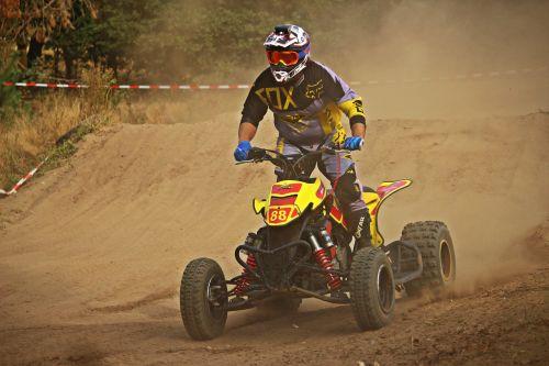 motokroso,quad,Quad race,kirsti,enduro,smėlis,lenktynės,motociklas,ATV,visureigė transporto priemonė