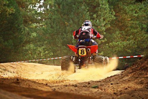 motokroso,quad,Quad race,motorsportas,kirsti,enduro,ATV,motociklas,visureigė transporto priemonė,smėlis,lenktynės
