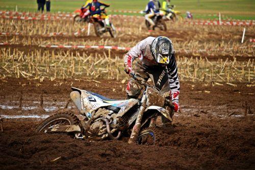motocross enduro mud