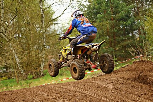 motocross quad race