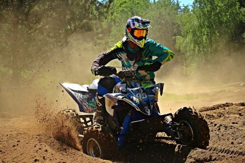 motocross quad atv