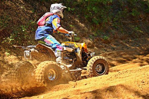 motokroso,quad,ATV,visureigė transporto priemonė,motociklas,kirsti,lenktynės,smėlis,motorsportas,enduro,motokroso važiavimas,lenktynės,Quad race,motociklų sportas