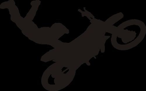 motocross jump adrenaline