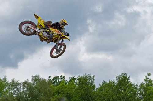 motocross acrobatics race