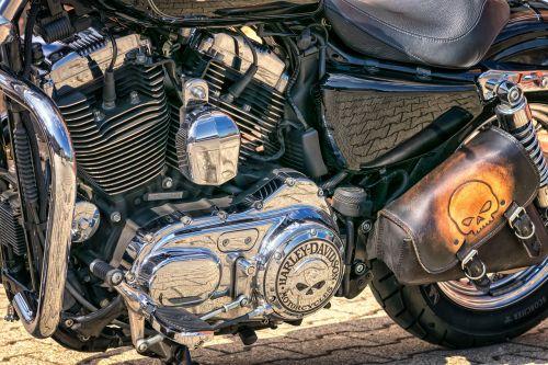 motor harley davidson motorcycle