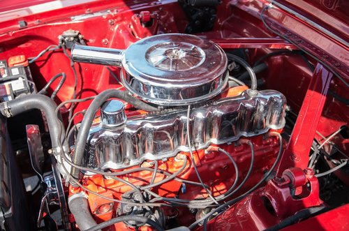 motor  6 cylinder  oldtimer