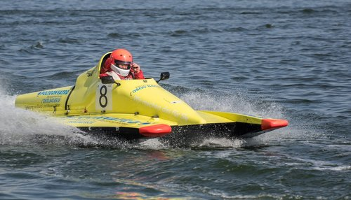 motor boat race  water sports  racing