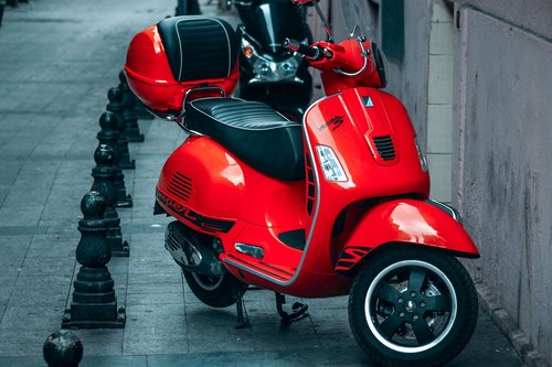 motor cycle  motorcycles  red