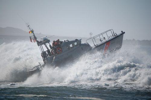 motor lifeboat surf coast guard