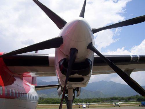 motor plane propelas helice