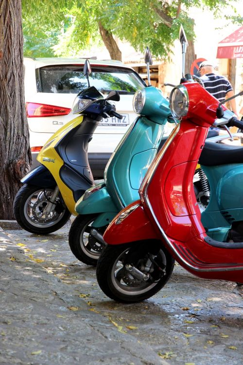 motor scooter park flitzer