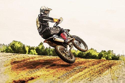 motor sport  motorcycle  motocross