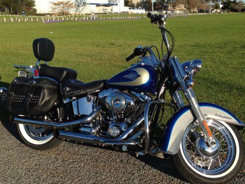 motorbike harley davidson motorcycle