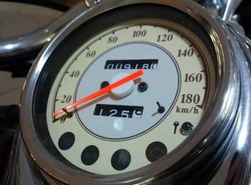 motorbike tachometer speed