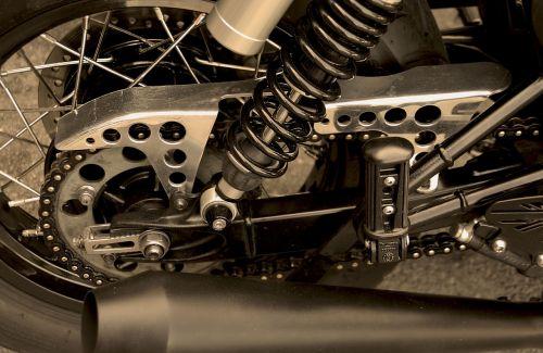 motorbike suspension motorcycle