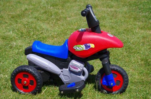 motorbike children bounce