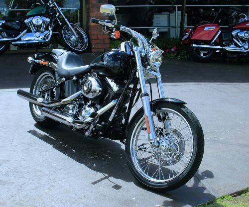 motorbike harley display room