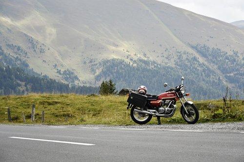 motorbike  motorcycle  mountains
