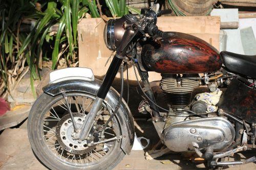 motorbike old bike