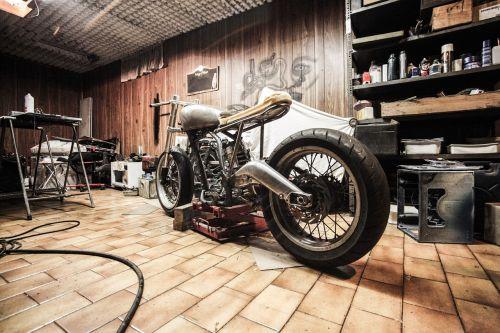 motorbike garage repairs