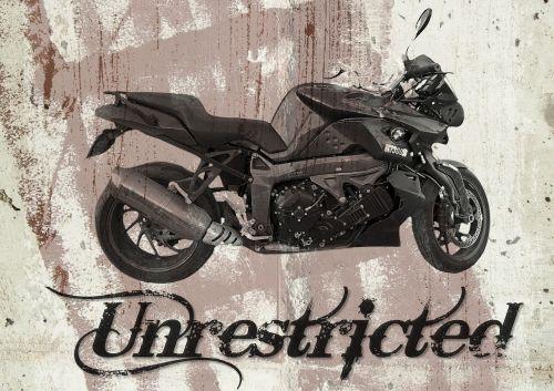 motorbike grunge bike
