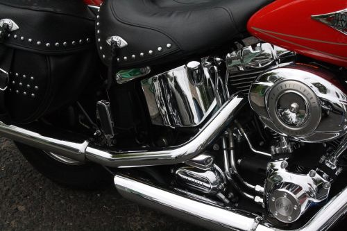 motorcycle harley davidson chrome gloss