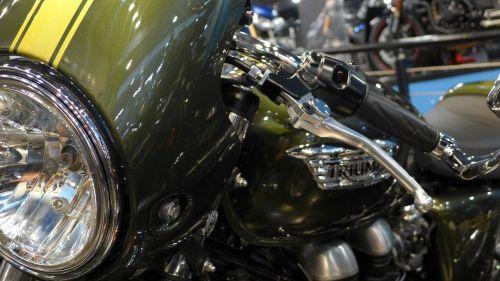 motorcycle triumph motorbike