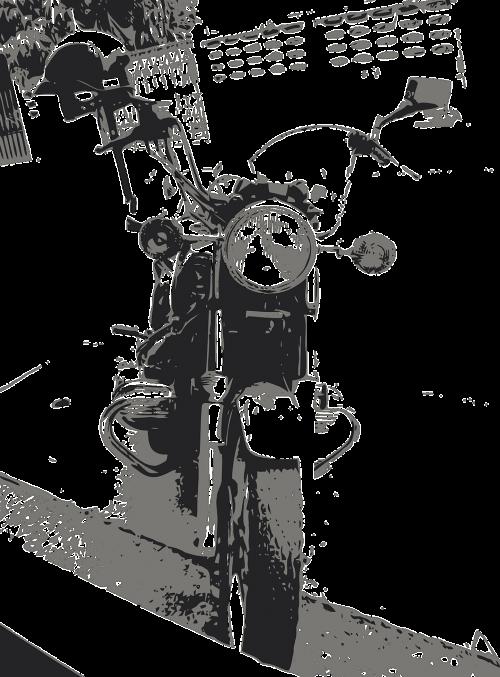 motorcycle bike chopper
