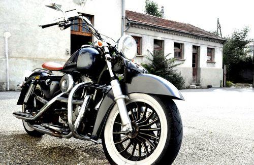 motorcycle chrome bikers