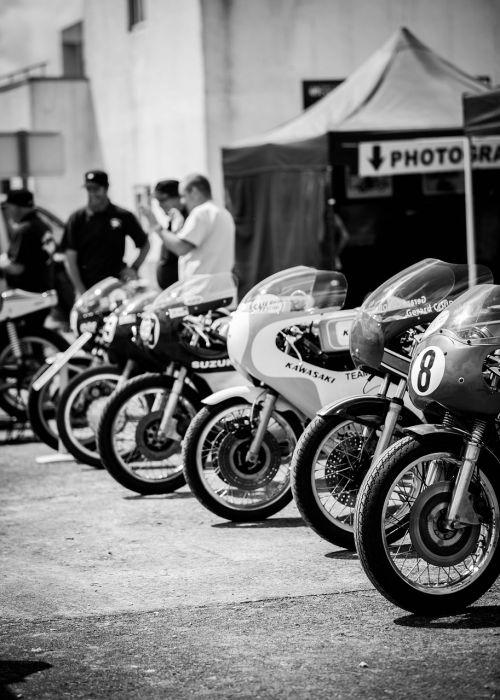 motorcycle vintage circuit