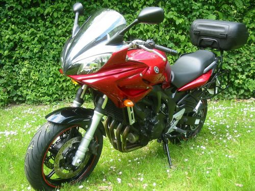 motorcycle facer red motorcycle